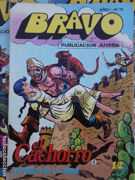 Tebeos: BRAVO EL CACHORRO LOTE 19 NºS - 3,4,8,9,11,12,14,15,16,17,18,20,21,22,24,26,29,37,41 ÚLTIMO - Foto 27 - 115515635
