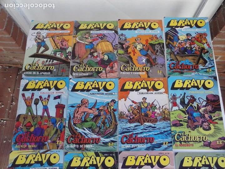 Tebeos: BRAVO EL CACHORRO 33 NºS LOTE - 2 AL 26,29,30,31,33,35,37,39,41 - Foto 2 - 115516223