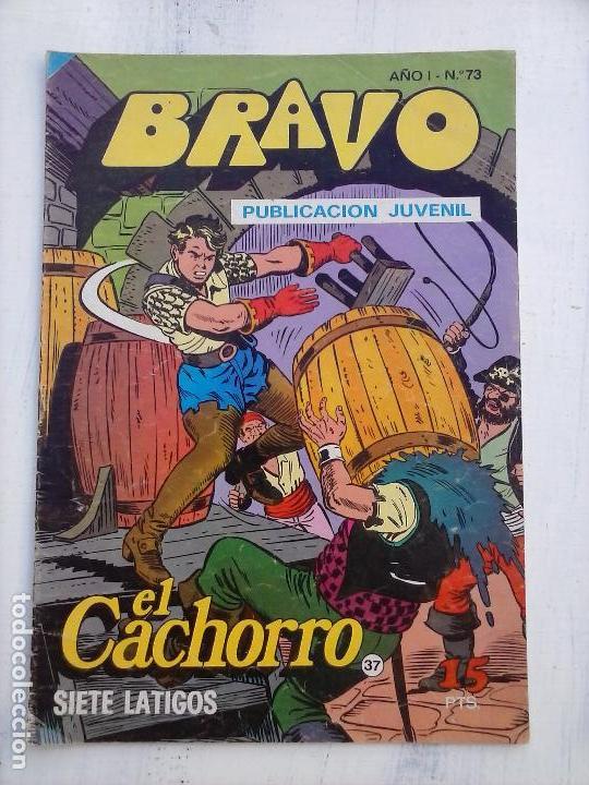 Tebeos: BRAVO EL CACHORRO 33 NºS LOTE - 2 AL 26,29,30,31,33,35,37,39,41 - Foto 10 - 115516223