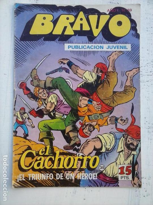 Tebeos: BRAVO EL CACHORRO 33 NºS LOTE - 2 AL 26,29,30,31,33,35,37,39,41 - Foto 11 - 115516223
