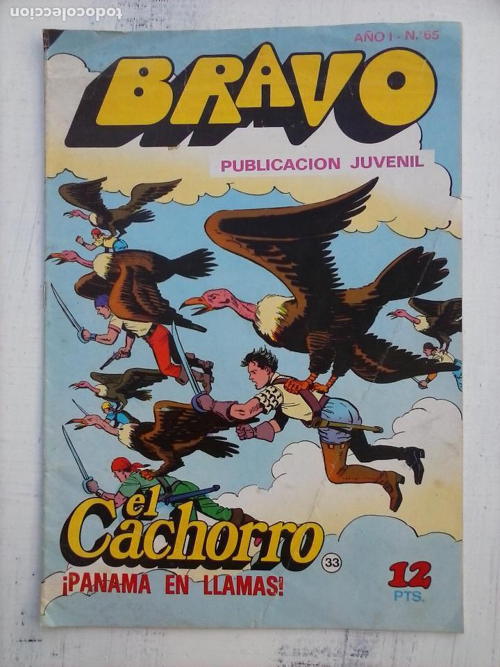 Tebeos: BRAVO EL CACHORRO 33 NºS LOTE - 2 AL 26,29,30,31,33,35,37,39,41 - Foto 12 - 115516223