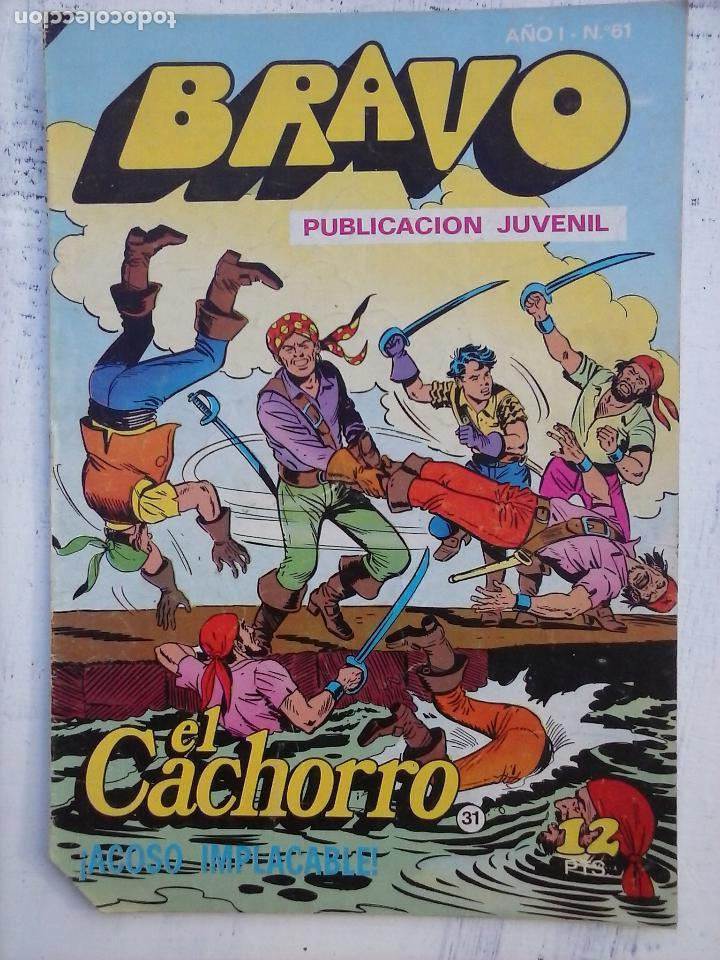 Tebeos: BRAVO EL CACHORRO 33 NºS LOTE - 2 AL 26,29,30,31,33,35,37,39,41 - Foto 13 - 115516223