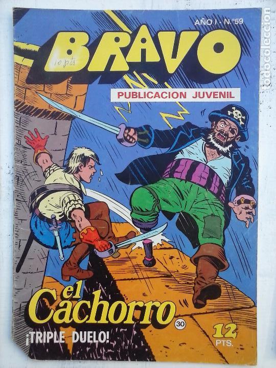 Tebeos: BRAVO EL CACHORRO 33 NºS LOTE - 2 AL 26,29,30,31,33,35,37,39,41 - Foto 14 - 115516223