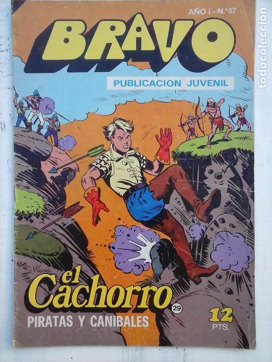 Tebeos: BRAVO EL CACHORRO 33 NºS LOTE - 2 AL 26,29,30,31,33,35,37,39,41 - Foto 15 - 115516223