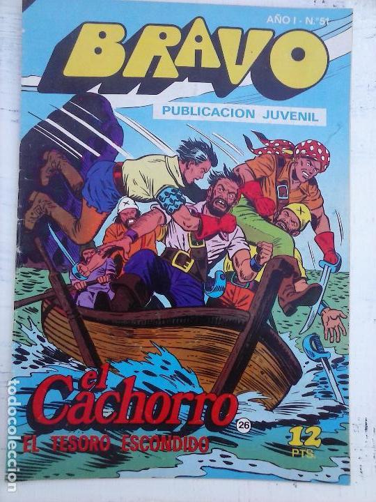 Tebeos: BRAVO EL CACHORRO 33 NºS LOTE - 2 AL 26,29,30,31,33,35,37,39,41 - Foto 16 - 115516223
