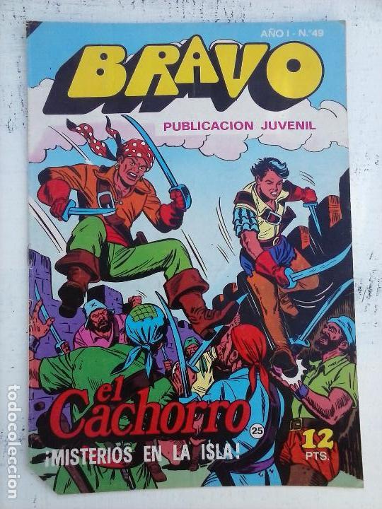 Tebeos: BRAVO EL CACHORRO 33 NºS LOTE - 2 AL 26,29,30,31,33,35,37,39,41 - Foto 17 - 115516223