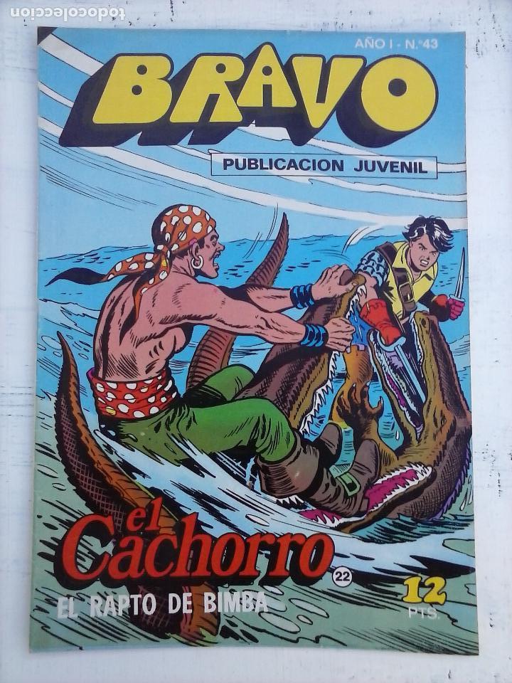 Tebeos: BRAVO EL CACHORRO 33 NºS LOTE - 2 AL 26,29,30,31,33,35,37,39,41 - Foto 20 - 115516223