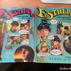 Tebeos: ESTHER LOTE Nº 5 Y 14 (BRUGUERA) CONSERVA POSTER (COI60). Lote 115518751