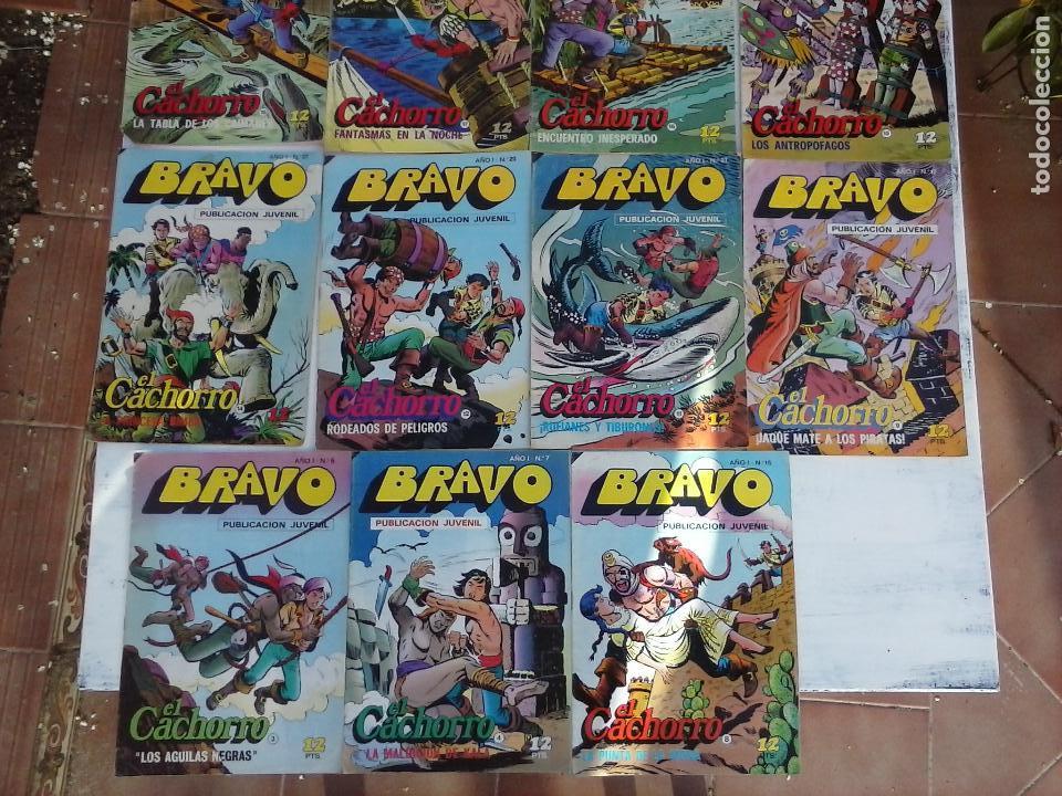 Tebeos: BRAVO EL CACHORRO LOTE 19 NºS - 3,4,8,9,11,12,14,15,16,17,18,20,21,22,24,26,29,37,41 ÚLTIMO - Foto 29 - 115515635
