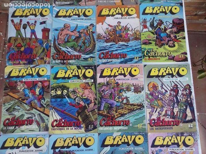 Tebeos: BRAVO EL CACHORRO 33 NºS LOTE - 2 AL 26,29,30,31,33,35,37,39,41 - Foto 3 - 115516223