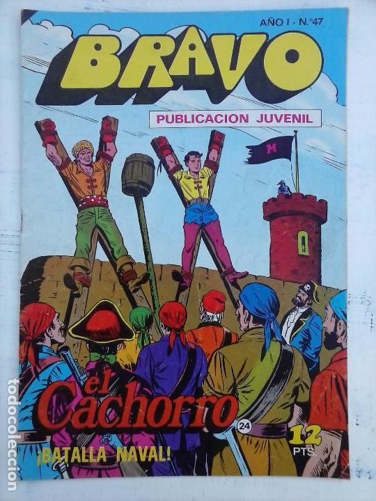 Tebeos: BRAVO EL CACHORRO 33 NºS LOTE - 2 AL 26,29,30,31,33,35,37,39,41 - Foto 23 - 115516223