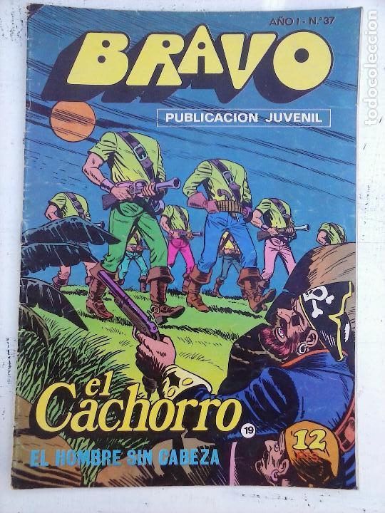 Tebeos: BRAVO EL CACHORRO 33 NºS LOTE - 2 AL 26,29,30,31,33,35,37,39,41 - Foto 24 - 115516223