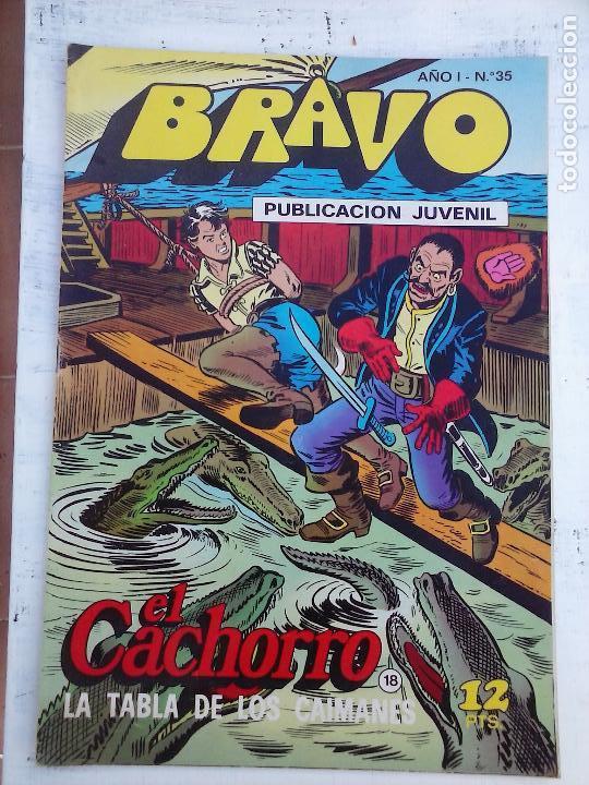 Tebeos: BRAVO EL CACHORRO 33 NºS LOTE - 2 AL 26,29,30,31,33,35,37,39,41 - Foto 26 - 115516223