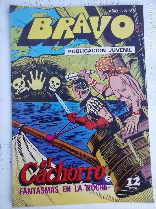 Tebeos: BRAVO EL CACHORRO 33 NºS LOTE - 2 AL 26,29,30,31,33,35,37,39,41 - Foto 28 - 115516223