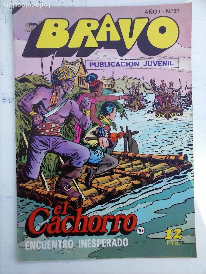 Tebeos: BRAVO EL CACHORRO 33 NºS LOTE - 2 AL 26,29,30,31,33,35,37,39,41 - Foto 31 - 115516223