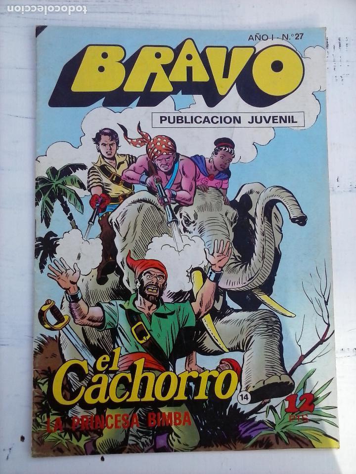 Tebeos: BRAVO EL CACHORRO 33 NºS LOTE - 2 AL 26,29,30,31,33,35,37,39,41 - Foto 33 - 115516223