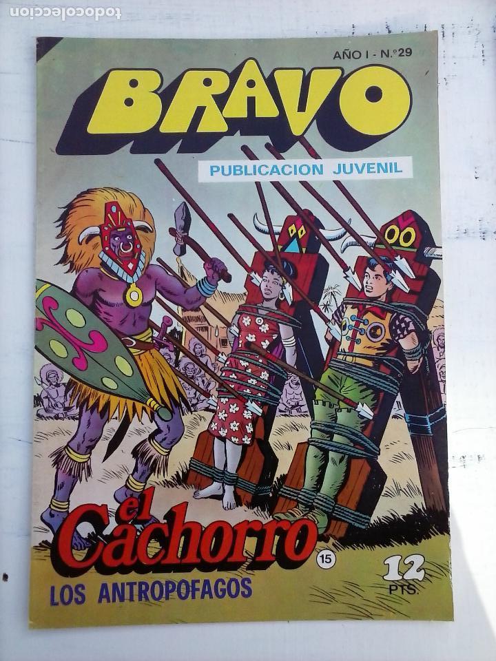 Tebeos: BRAVO EL CACHORRO 33 NºS LOTE - 2 AL 26,29,30,31,33,35,37,39,41 - Foto 36 - 115516223