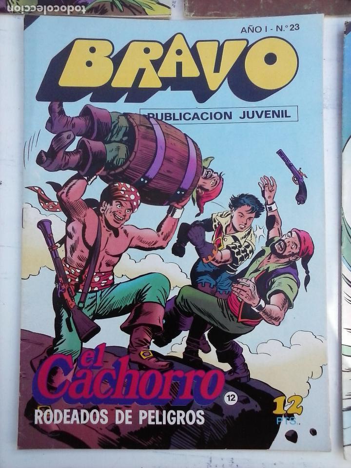 Tebeos: BRAVO EL CACHORRO 33 NºS LOTE - 2 AL 26,29,30,31,33,35,37,39,41 - Foto 38 - 115516223