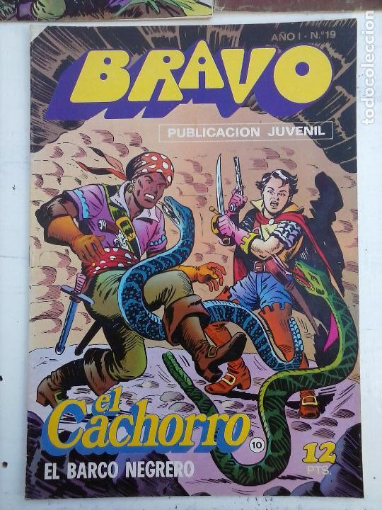 Tebeos: BRAVO EL CACHORRO 33 NºS LOTE - 2 AL 26,29,30,31,33,35,37,39,41 - Foto 42 - 115516223