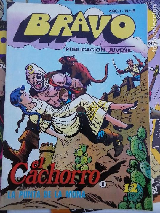 Tebeos: BRAVO EL CACHORRO 33 NºS LOTE - 2 AL 26,29,30,31,33,35,37,39,41 - Foto 44 - 115516223
