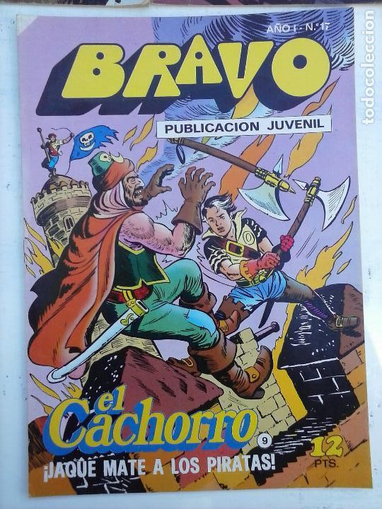 Tebeos: BRAVO EL CACHORRO 33 NºS LOTE - 2 AL 26,29,30,31,33,35,37,39,41 - Foto 47 - 115516223