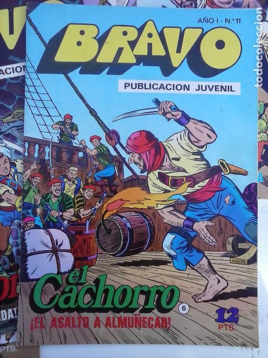 Tebeos: BRAVO EL CACHORRO 33 NºS LOTE - 2 AL 26,29,30,31,33,35,37,39,41 - Foto 49 - 115516223