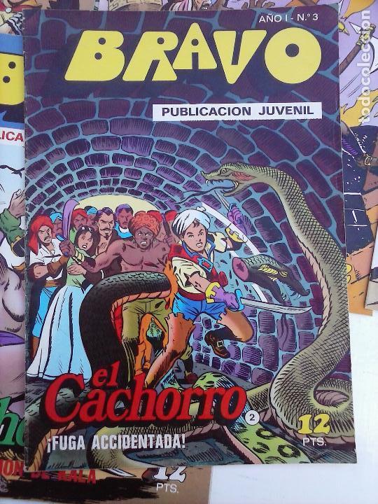 Tebeos: BRAVO EL CACHORRO 33 NºS LOTE - 2 AL 26,29,30,31,33,35,37,39,41 - Foto 52 - 115516223