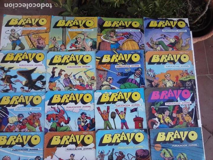 Tebeos: BRAVO EL CACHORRO 33 NºS LOTE - 2 AL 26,29,30,31,33,35,37,39,41 - Foto 57 - 115516223