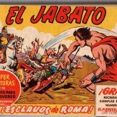 Tebeos: EL JABATO. TOMO ENCUADERNADO NUMEROS 1 AL 60. AÑOS 1958-1959. ORIGINAL, NO REEDICION. Lote 115549244