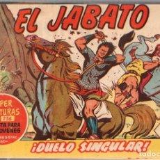Tebeos: EL JABATO. TOMO ENCUADERNADO NUMEROS 61 AL 120. AÑOS 1959-1961. ORIGINAL, NO REEDICION. Lote 115550342