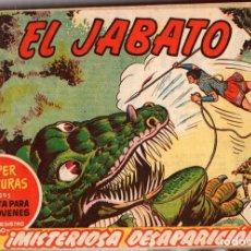 Tebeos: EL JABATO. TOMO ENCUADERNADO NUMEROS 121 AL 180. AÑOS 1961-1962. ORIGINAL, NO REEDICION. Lote 115550968