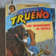 Tebeos: ALBÚM COLOR EL CAPITÁN TRUENO #1 (LOS NORMANDOS DE OSFOLD. Lote 115654015