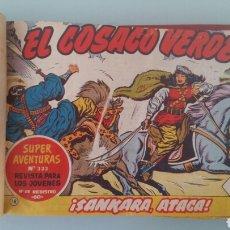 Tebeos: EL COSACO VERDE. BRUGUERA 1960 - 1961. 46 TEBEOS ENCUADERNADOS. ORIGINALES. Lote 115684624