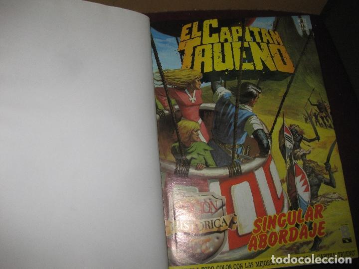 EL CAPITAN TRUENO EDICION HISTORICA. DEL Nº 73 AL Nº 91 ENCUADERNADO. EDICIONES B . 1987. (Tebeos y Comics - Bruguera - Capitán Trueno)