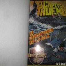 Tebeos: EL CAPITAN TRUENO EDICION HISTORICA. DEL Nº 54 AL Nº 72 ENCUADERNADO. EDICIONES B . 1987.. Lote 115688727