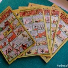 Tebeos: LOTE PORTADAS DE PULGARCITO EDITORIAL BRUGUERA. Lote 115741547