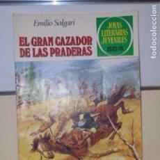 Tebeos: JOYAS LITERARIAS JUVENILES Nº 241 EL GRAN CAZADOR DE LAS PRADERAS EMILIO SALGARI - BRUGUERA -. Lote 115933087