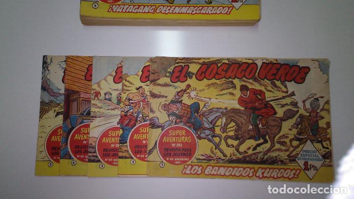 Tebeos: EL COSACO VERDE (BRUGUERA) ORIGINALES 1960 (Lote de 44 nº) - Foto 4 - 115957743