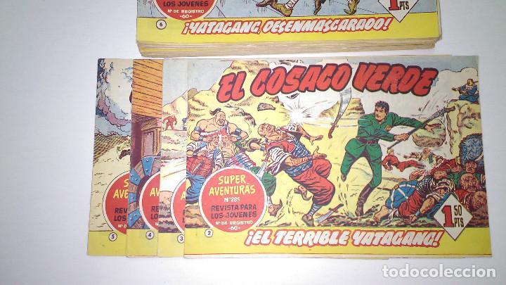 Tebeos: EL COSACO VERDE (BRUGUERA) ORIGINALES 1960 (Lote de 44 nº) - Foto 5 - 115957743