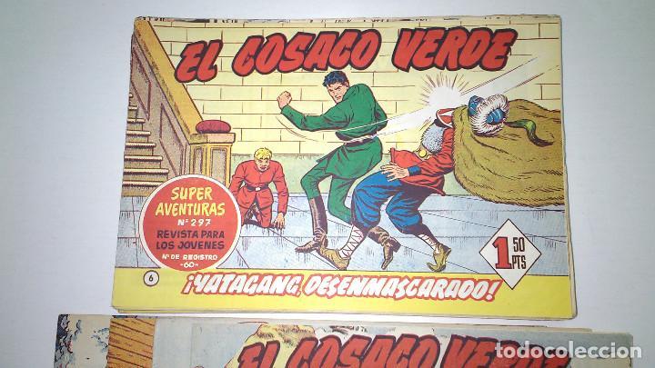 Tebeos: EL COSACO VERDE (BRUGUERA) ORIGINALES 1960 (Lote de 44 nº) - Foto 6 - 115957743