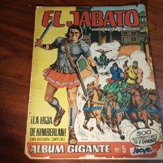 Tebeos: EL JABATO 5 ALBUM GIGANTE BRUGUERA. Lote 116049260