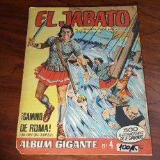 Tebeos: EL JABATO 4 BUEN ESTADO ALBUM GIGANTE BRUGUERA. Lote 116049376