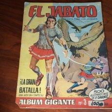 Tebeos: EL JABATO 3 BUEN ESTADO ALBUM GIGANTE BRUGUERA. Lote 116049495
