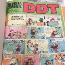 Tebeos: DDT TIOVIVO SELECCIONES DE JAIMITO JAIMITO PULGARCITO ENCUADERNADOS. Lote 116203783