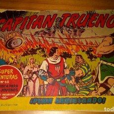 Tebeos: ORIGINAL - EL CAPITÁN TRUENO - NUMERO 101: ¡PLAN ARRIESGADO!. Lote 116208715
