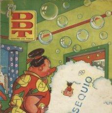 Tebeos: EL DDT CONTRA LAS PENAS - Nº 3 - BRUGUERA 1951 - EN BASTANTE BUEN ESTADO DE CONSERVACION - UNICO. Lote 116210375