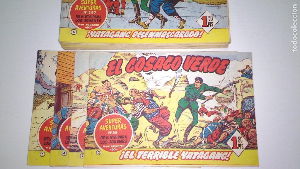 Tebeos: EL COSACO VERDE (BRUGUERA) ORIGINALES 1960 (Lote de 44 nº) - Foto 2 - 115957743
