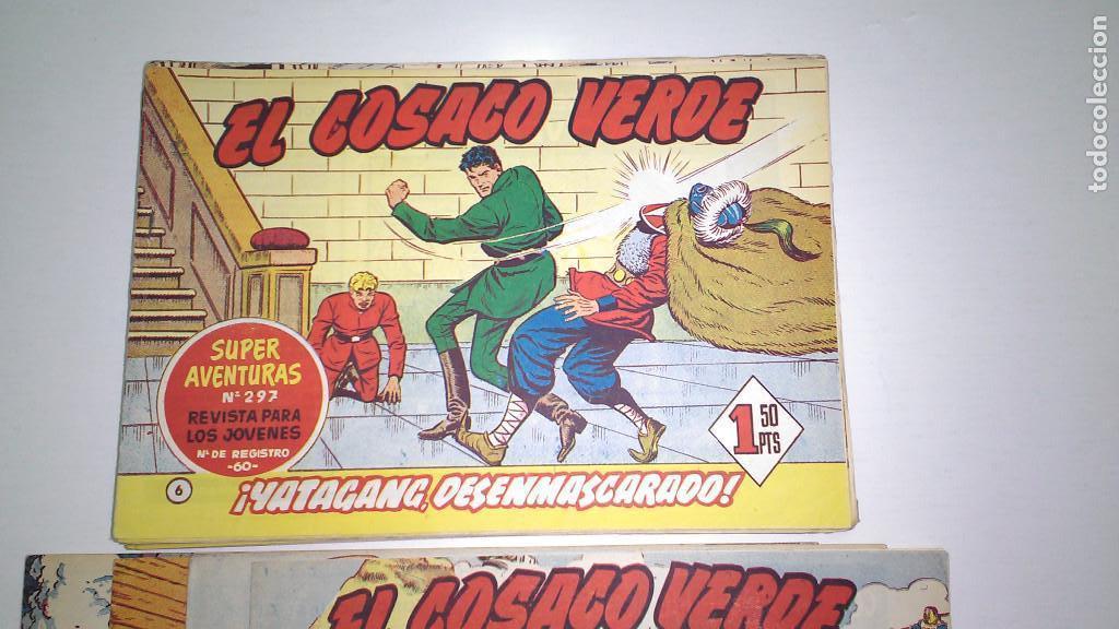 Tebeos: EL COSACO VERDE (BRUGUERA) ORIGINALES 1960 (Lote de 44 nº) - Foto 3 - 115957743