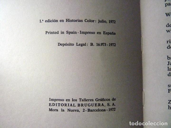 Tebeos: HISTORIAS COLOR. UN CAPITAN DE QUINCE AÑOS. Nº 10. BRUGUERA 1972. ESTUCHE - Foto 3 - 116226547