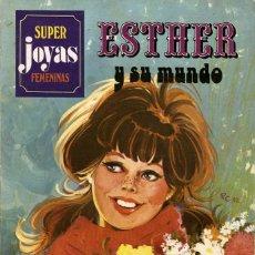 Tebeos: ESTHER Y SU MUNDO. SUPER JOYAS FEMENINAS-24, DE PURITA CAMPOS. PRIMERA EDICIÓN (BRUGUERA, 1982). Lote 116231751
